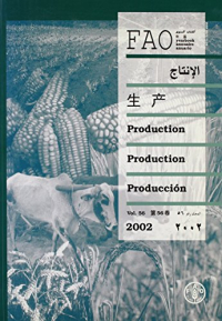FAO yearbook Production vol. 56, 2002