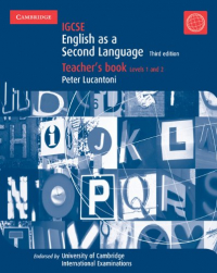 English as a second language. Teacher's book