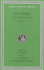 The histories / Polybius ; translated by W. R. Paton ; revised by Frank W. Walbank and Christian Habicht. 1: Books 1-2