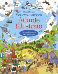 Atlante illustrato con linguette