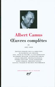 Oeuvres completes / Albert Camus ; edition publie sous la direction de Jacqueline Levi-Valensi. 4: 1957-1959