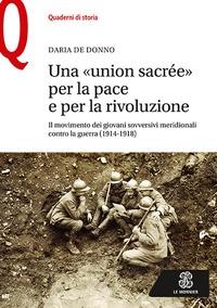 Una union sacrée per la pace e per la rivoluzione