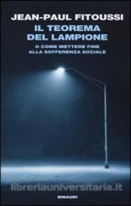 Il teorema del lampione, o come mettere fine alla sofferenza sociale