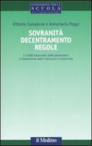 Sovranità decentramento regole
