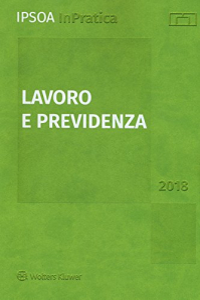 Lavoro e  previdenza 2018