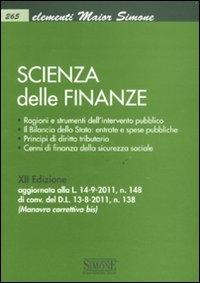 Scienza delle finanze
