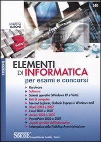 Elementi di informatica