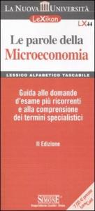 Le parole della microeconomia