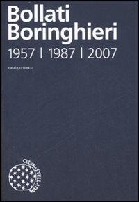 Catalogo storico delle edizioni Bollati Boringhieri 1957, 1987, 2007