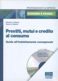 Prestiti, mutui e credito al consumo
