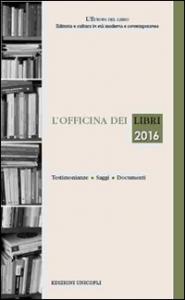 L'officina dei libri 2016