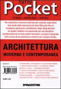 Architettura moderna e contemporanea