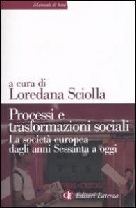 Processi e trasformazioni sociali