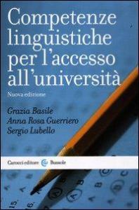 Competenze linguistiche per l'accesso all'universita'