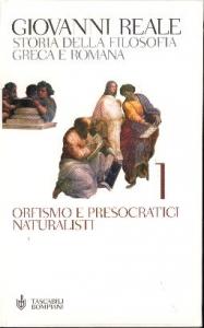 1: Orfismo e presocratici naturalisti