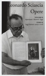 Tomo 2: Saggi letterari, storici e civili