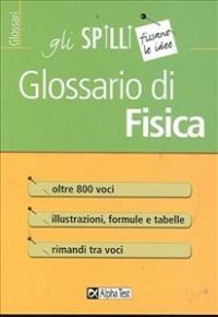 Glossario di fisica