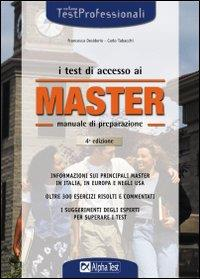 I test di accesso ai master