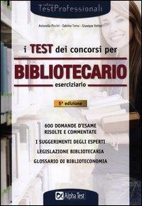 I test dei concorsi per bibliotecario
