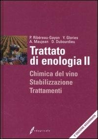 2: Chimica del vino, stabilizzazione, trattamenti