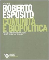 Comunità e biopolitica
