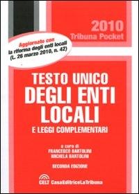 Testo Unico degli Enti locali e leggi complementari