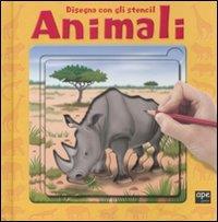Disegna con gli stencil animali