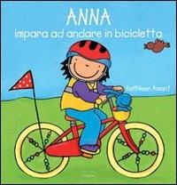 Anna impara ad andare in bicicletta