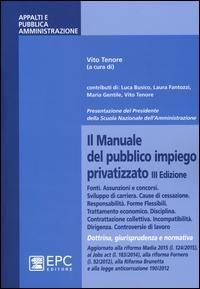 Il manuale del pubblico impiego privatizzato