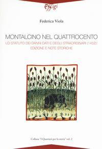 Montalcino nel Quattrocento