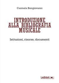 Introduzione alla bibliografia musicale