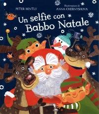 Un selfie con Babbo Natale