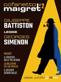 Cofanetto Maigret 2 [Audioregistrazione]
