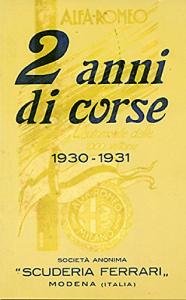 2 anni di corse, 1930-1931