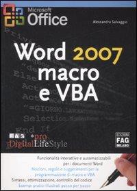 Word 2007 macro e VBA