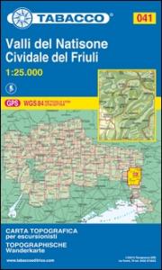 Foglio 41: Valli del Natisone, Cividale del Friuli