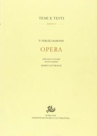 P. Vergili Maronis Opera