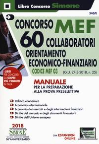Concorso MEF 60 collaboratori