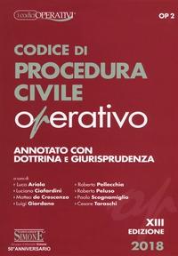 Codice di procedura civile operativo
