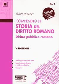 Compendio di storia del diritto romano