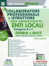 Collaboratore professionale e istruttore area amministrativa Enti locali