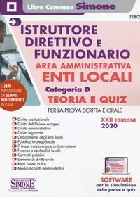 Istruttore direttivo e funzionario area amministrativa enti locali