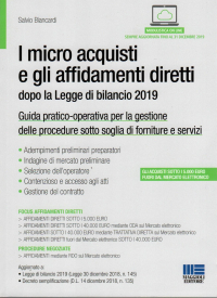 I micro acquisti e gli affidamenti diretti dopo la legge di bilancio 2019