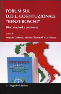 """Forum sul D.D.L. costituzionale """"Renzi-Boschi"""""""