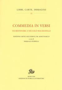 Commedia in versi da restituire a Niccolò Machiavelli