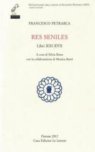 Res seniles. Libri XIII-XVII