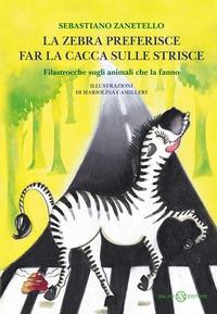 La zebra preferisce far la cacca sulle strisce