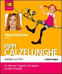 Marina Massironi legge Pippi Calzelunghe [Audioregistrazioni]
