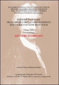 Vol.13.2: Corrispondenza. Lettere in croato