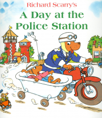 Richard Scarrys A day at the Police station